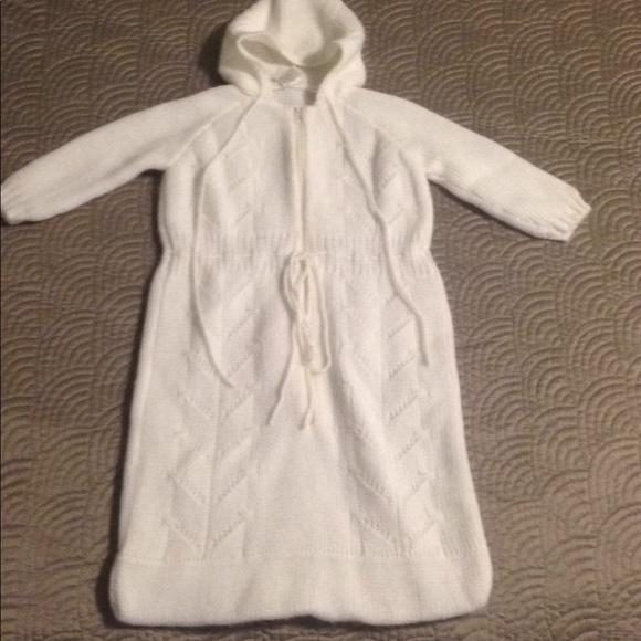 Vintage Dresses Baby Hooded Sweater Sack Dress Poshmark